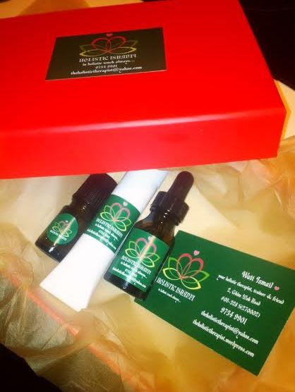 Elly's customised skincare present