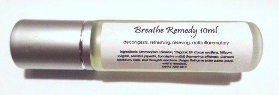 Breathe Remedy 10ml $22
