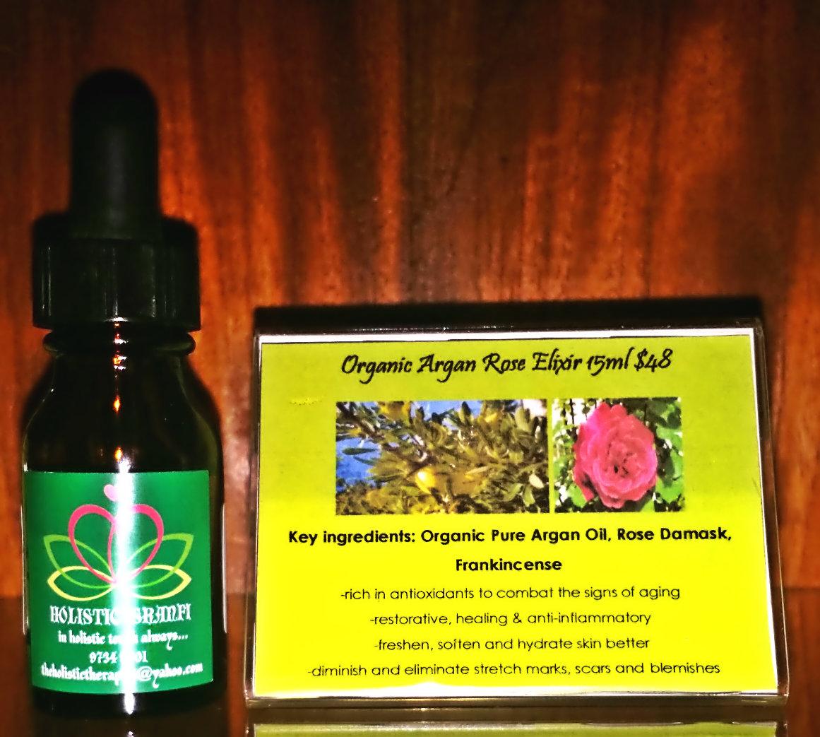 Organic Argan RoseElixir